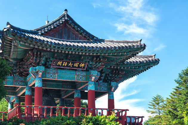 Beomeosa Temple in Busan shore excursions