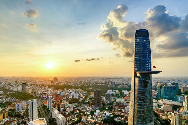 Bitexco Financial Tower in Ho Chi Minh shore excursions