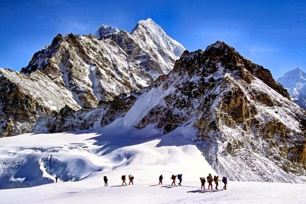 Climbing Himalayas