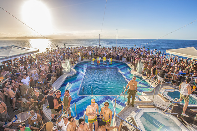 Cruise lines for LGBT