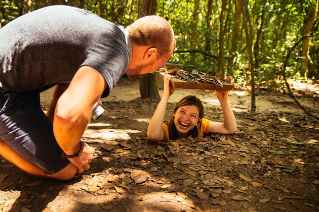 Cu Chi Tunnels - Ho Chi Minh shore excursions