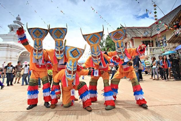 Ghost Festival (Phi Ta Khon in Thailand