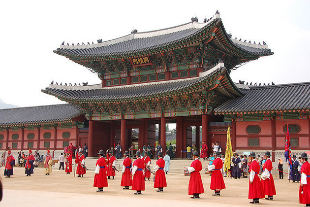 Gyeongbokgung Palace in Seoul shore excursions