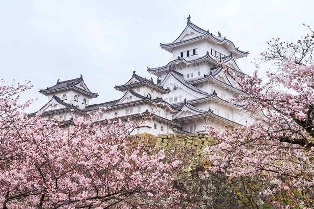 Himeji Castle in Himeji
