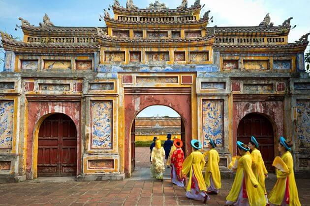 Explore the Old Citadel of Hue
