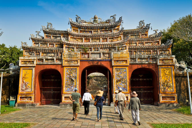 Imperial City in Hue shore excursions