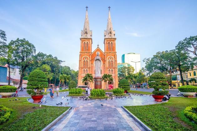 Notre Dame Cathedral Ho Chi Minh City - Saigon