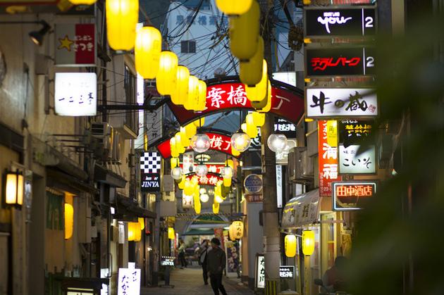 Shianbashi Street in Nagasaki