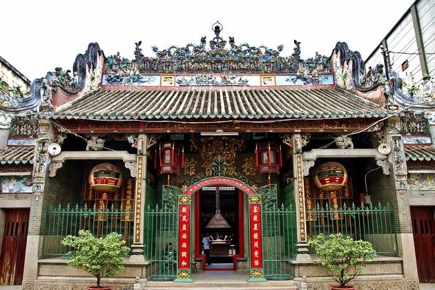 Thien Hau Temple in Ho Chi Minh City