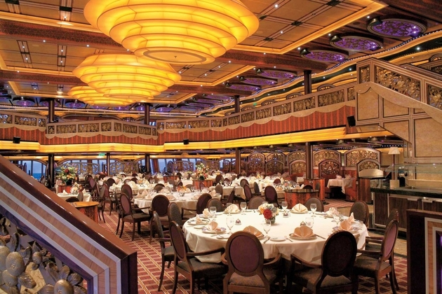 dining in carnival cruise