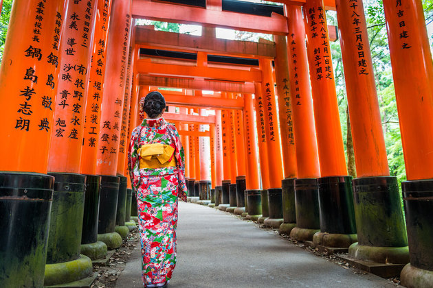 the best time to visit Kyoto shore excursions