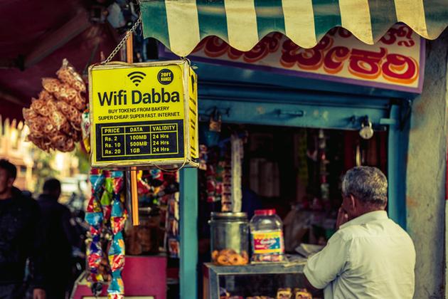 wifi in India
