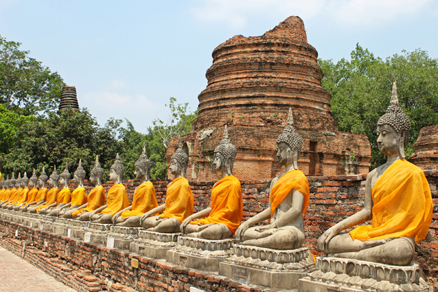 Ayutthaya attraction from Bangkok shore excursions