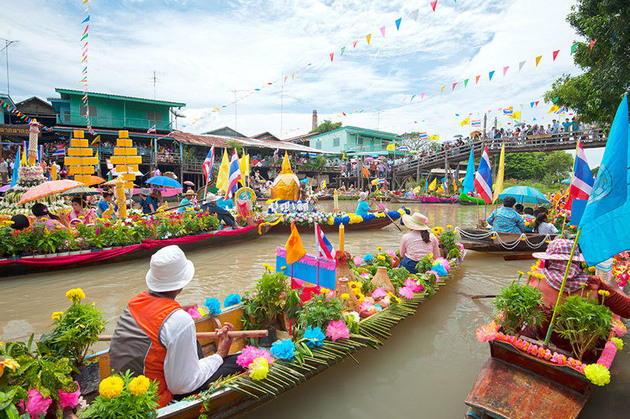 Floating markets - bangkok shore excursions
