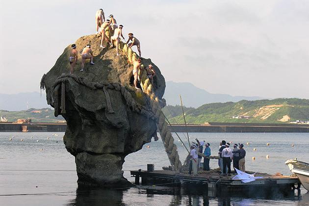 Heishi Rock in Esashi