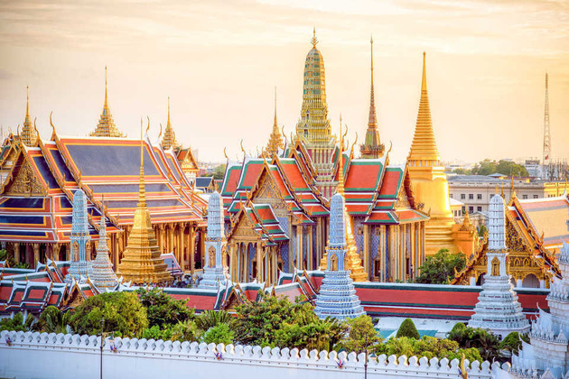 The Grand Palace - Bangkok shore excursions