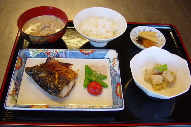 teishoku meal in Japan