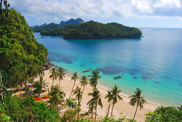 Ang Thong National Marine Park in Koh Samui shore excursions
