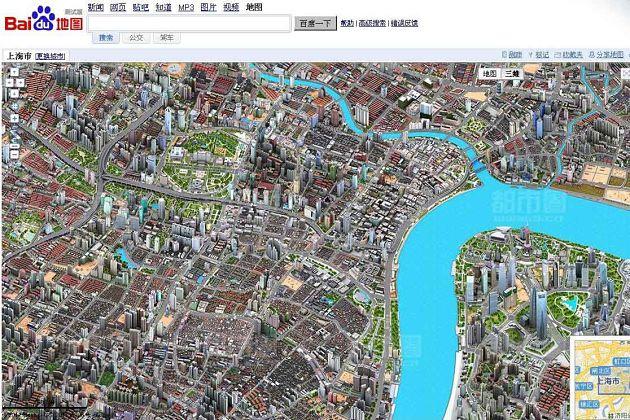 Baidu Maps - China shore excursions
