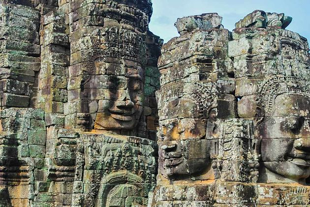 Bayon Temple - Cambodia shore excursions