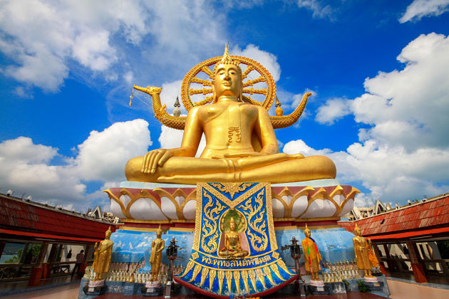Big Buddha Temple in Koh Samui shore excursions