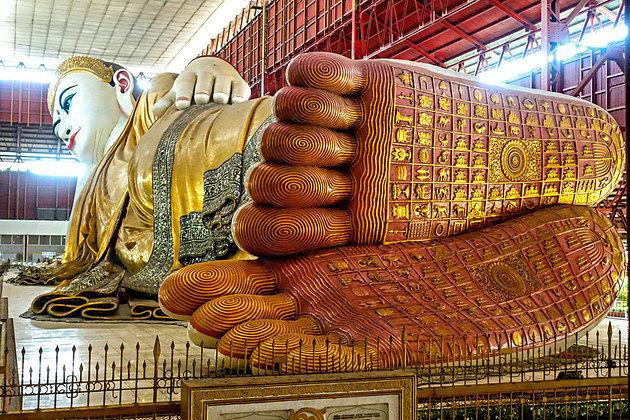 Chaukhtatgyi Buddha Temple in Yangon shore excursions