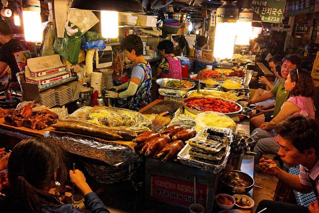 Gukjesijang market - Busan shore excursions