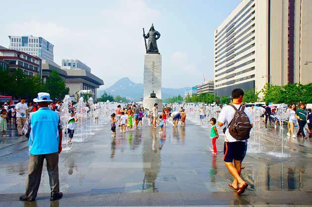 Gwanghwamun Plaza - Seoul shore excursions