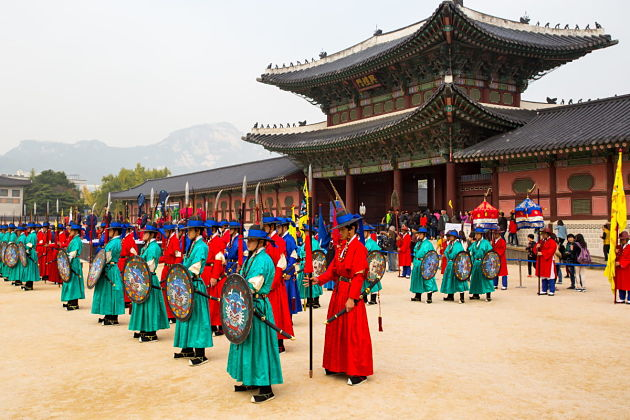 Gyeongbokgung Palace - Seoul shore excursions
