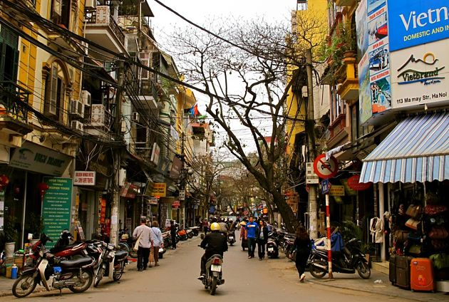 Hanoi shore excursions Old Quarter