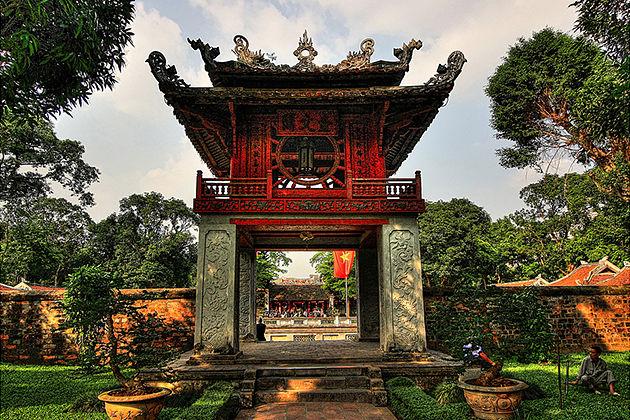 Hanoi shore excursions Temple of Literature