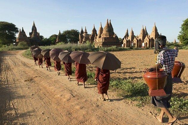 Hot temperature in Myanmar