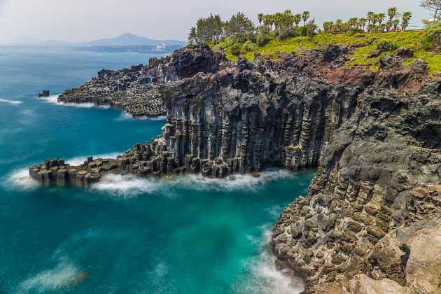 Jusangjeolli Cliffs - Jeju shore excursions