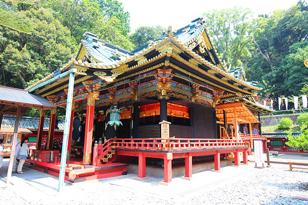 Kunozan Toshogu Shrine in Shimizu shore excursions