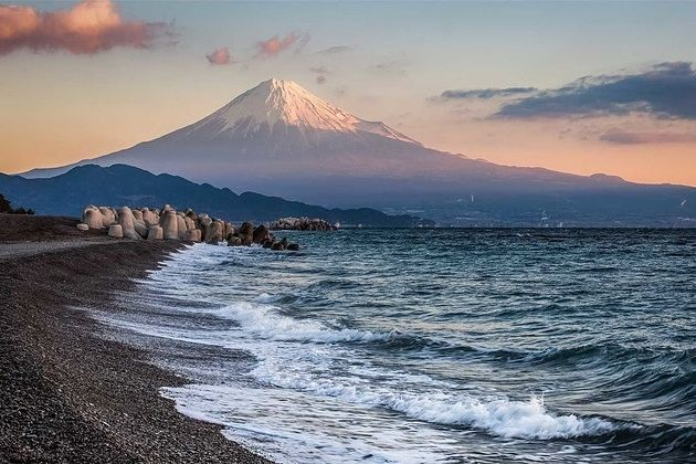 Mihono beach in Shimizu shore excursions
