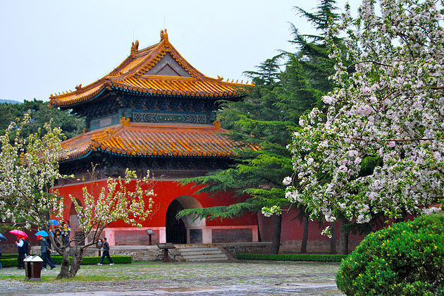Ming Tombs in Beijing shore excursions