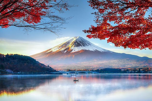 Mount Fuji in Shimizu shore excursions