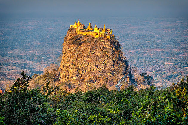 Mount Popa in Bagan shore excursions