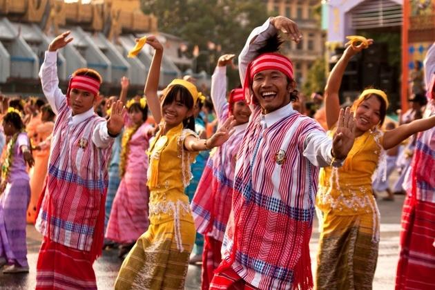 Myanmar people - shore excursions