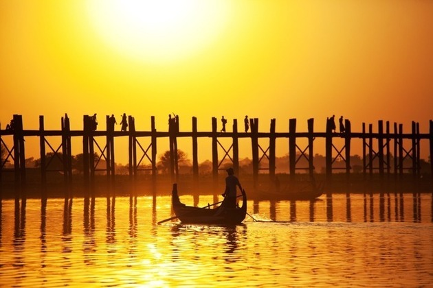 Myanmar shore excursions in hot season