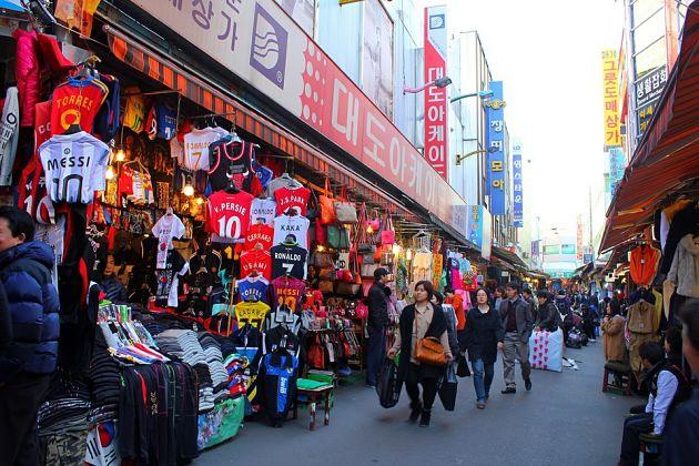 Namdaemun Market - Seoul shore excursions