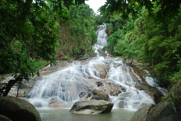 Namuang Waterfalls - Koh Samui shore excursions