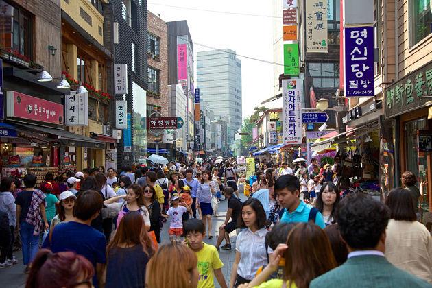 No Personal Space in Korea