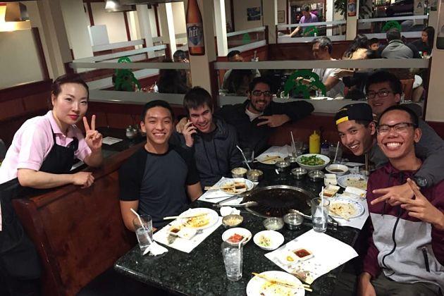 No tip in Korea
