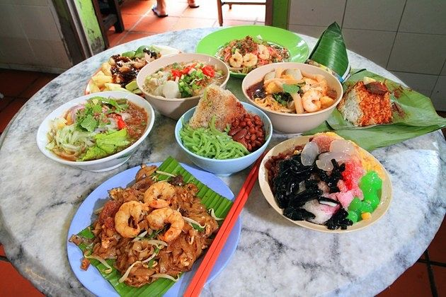 Penang shore excursions - Exotic Cuisine