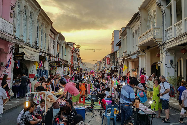 Phuket Old Town - Phuket shore excursions