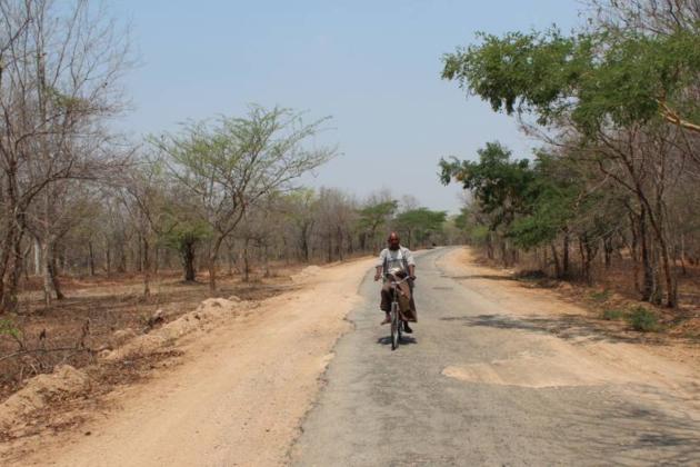 Roads in Myanmar