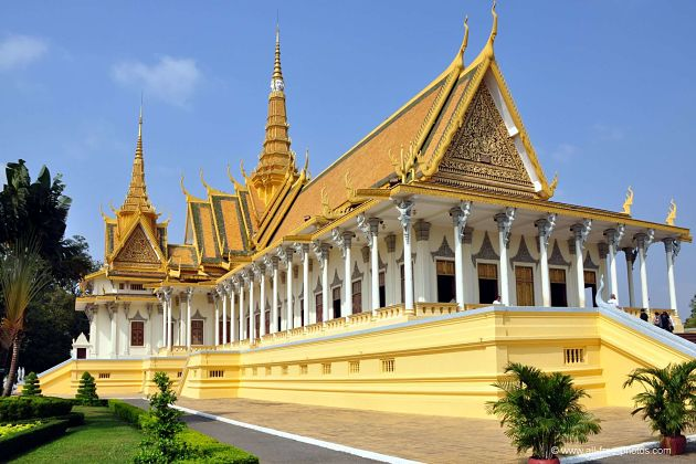 Royal Palace - Cambodia shore excursions