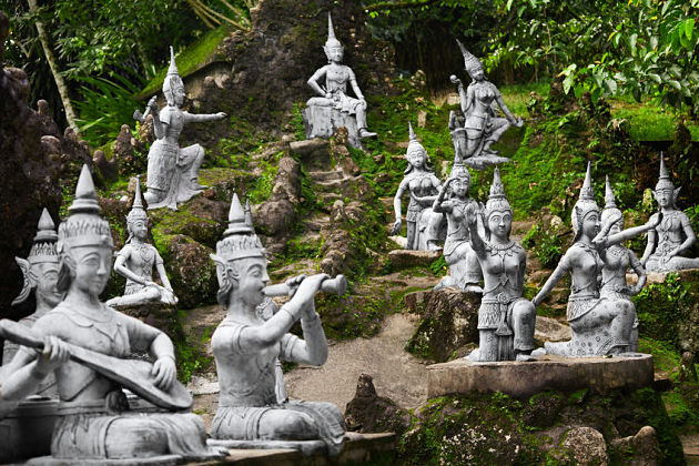 Secret Buddha Garden in Koh Samui shore excursions