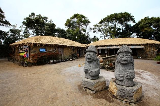 Seongeup Folk Village - Jeju shore excursions